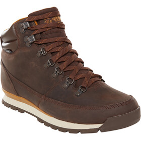 The North Face Back-To-Berkeley Redux Leather Shoes Men chocolate brown/golden brown